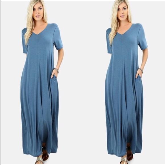 Plus size maxi dress. Boutique